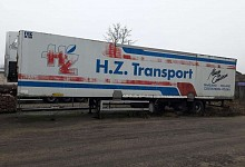 Pacton TXZ 399, flatbed with tarpaulin