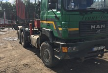 MAN 27.463, timber transporters, diesel