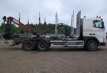 Volvo 654, wood transporters